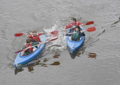 Kayak sur l'Ourthe