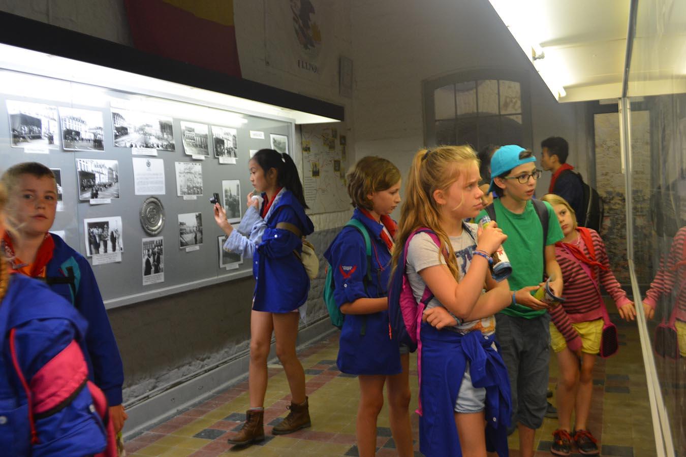 Visite éducative du fort de la ville de Huy