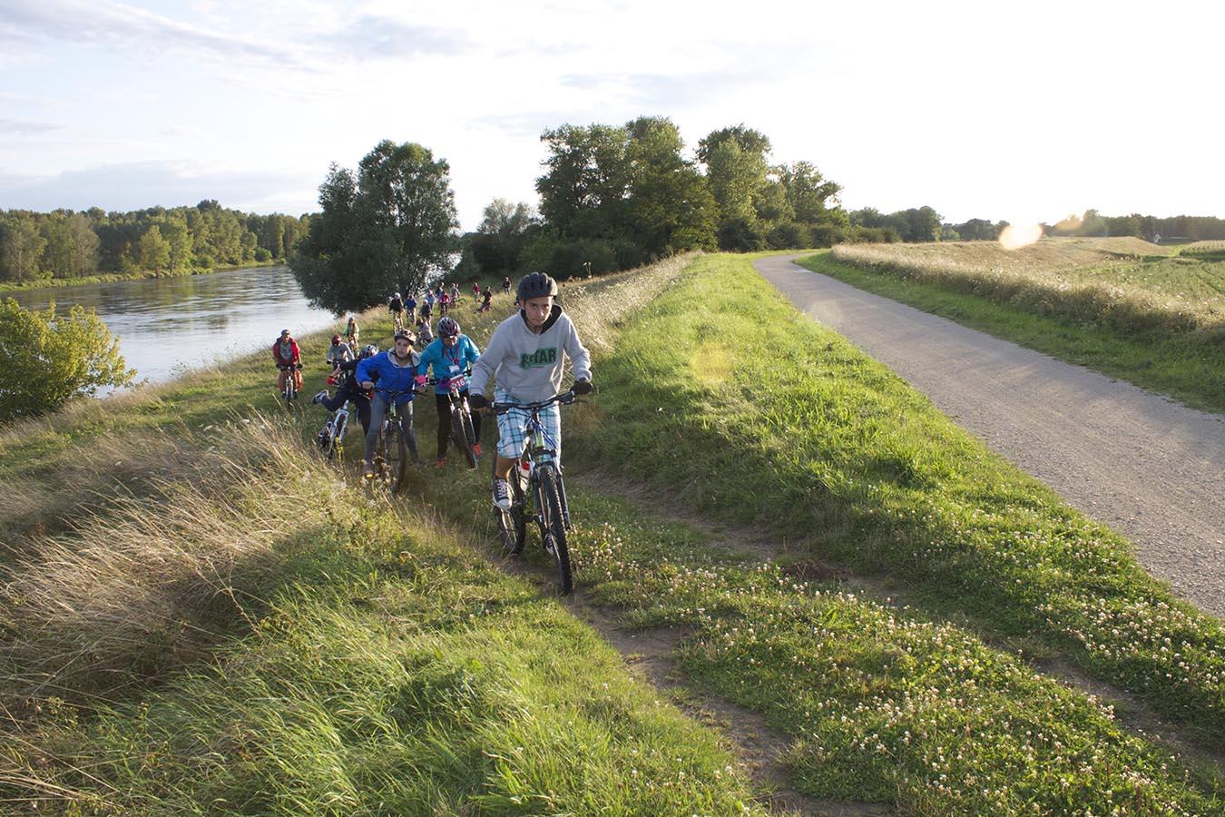 Balade en vélo en France