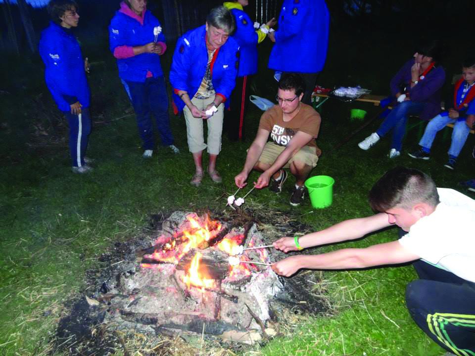 Préparation de marshmallows
