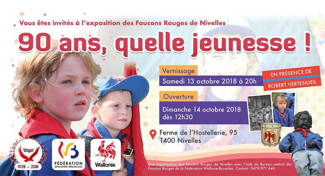 Nivelles – Exposition « 90 ans quelle jeunesse ! »