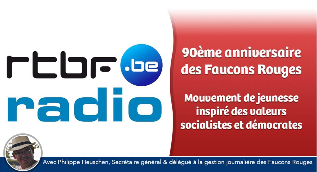 90 ans des Faucons Rouges : interview radio