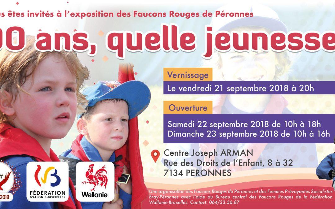 Péronnes – Expo 90 ans et parcours de combattantes