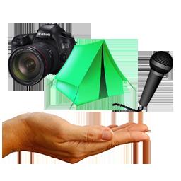 Prêt de matériel de camping et audiovisuel