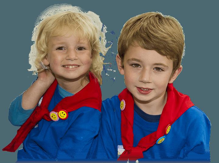 Enfants faucons rouges