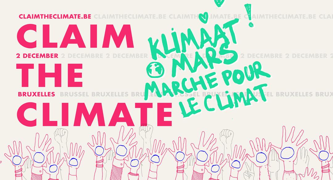 Claim the climate – Marche pour le climat