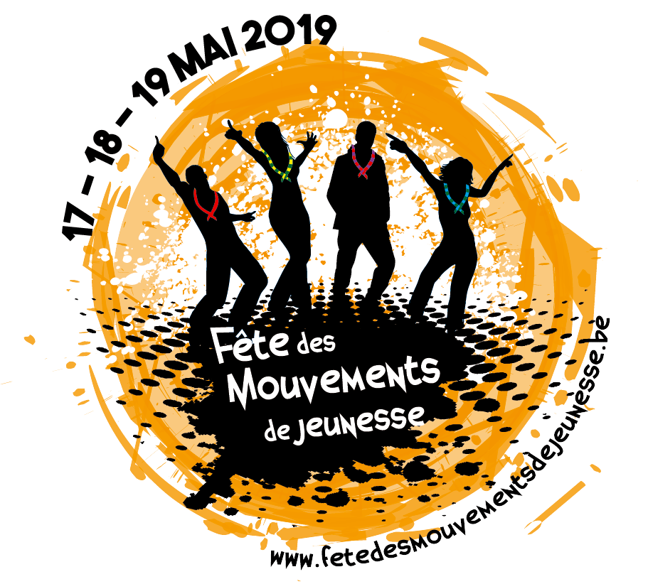 Logo de la fête des mouvements de jeunesse