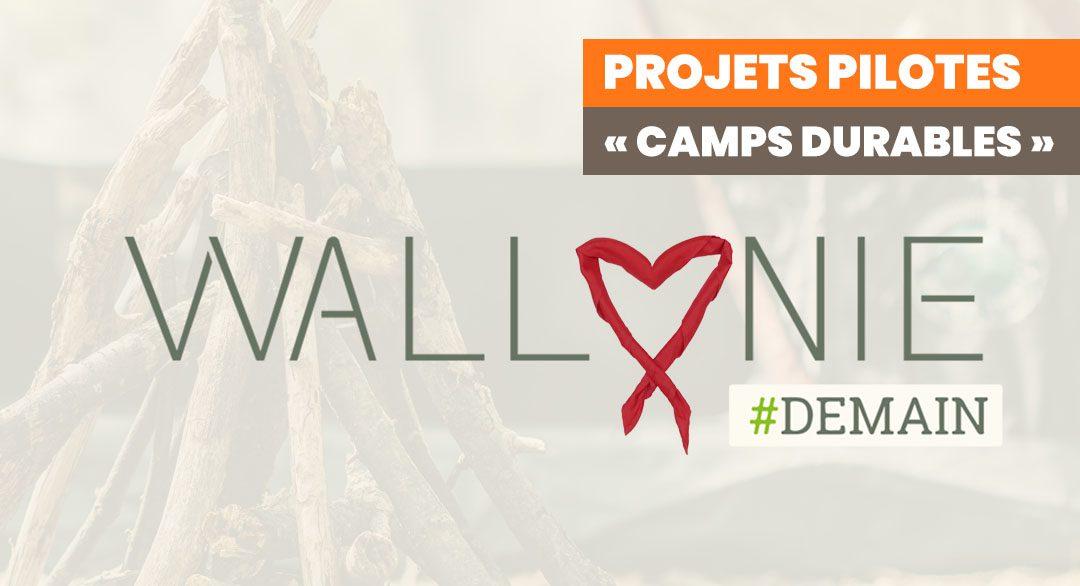 La Wallonie cherche 15 projets pilotes «Camps Durables» !