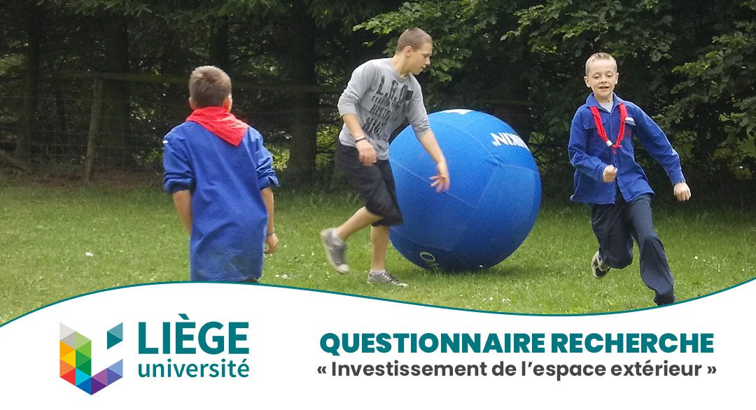 Questionnaire Recherche «Investissement de l'espace extérieur»