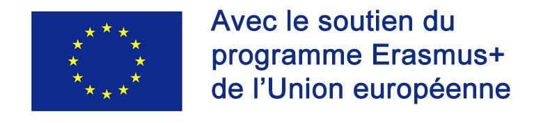 Avec le soutien du programme Erasmus+ de l'union européenne