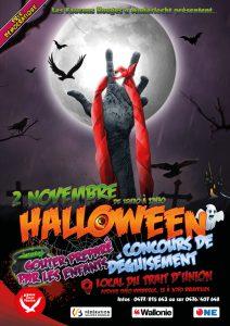 Halloween des Faucons Rouges d'Anderlecht