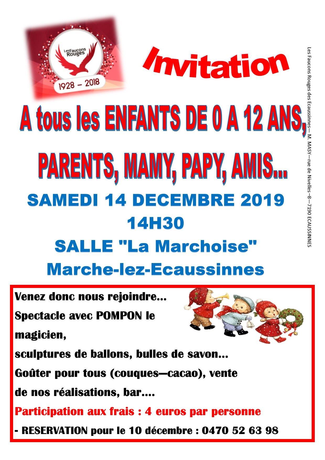 Écaussinnes – Spectacle, sculptures de ballons…