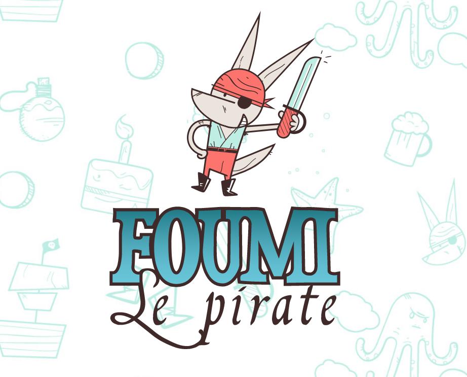 Logo Foumi le pirate