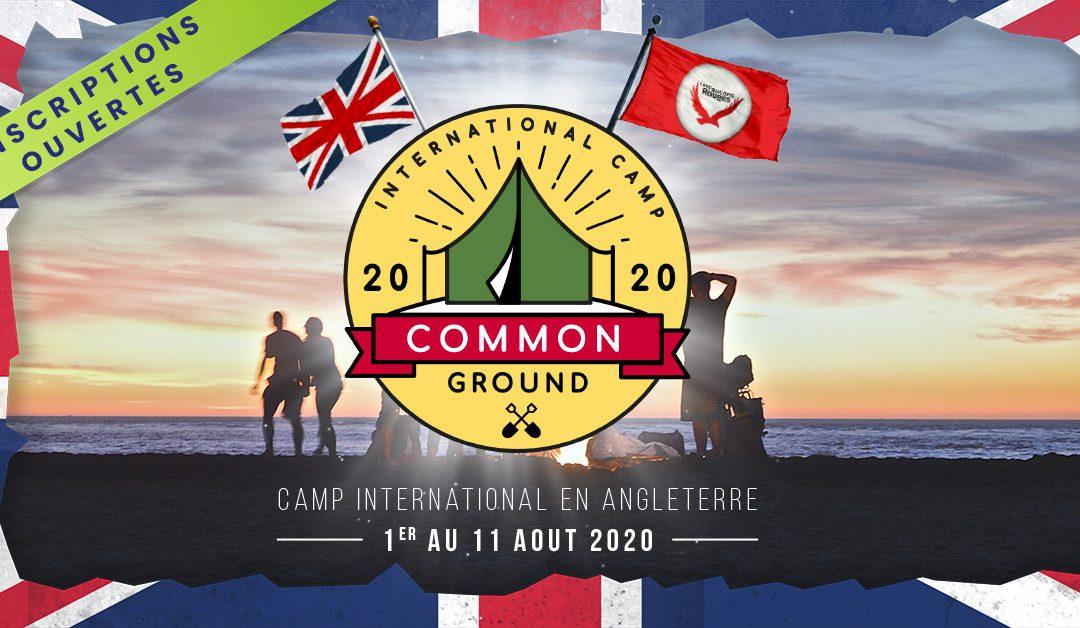 Camp international 2020 – Inscriptions ouvertes !
