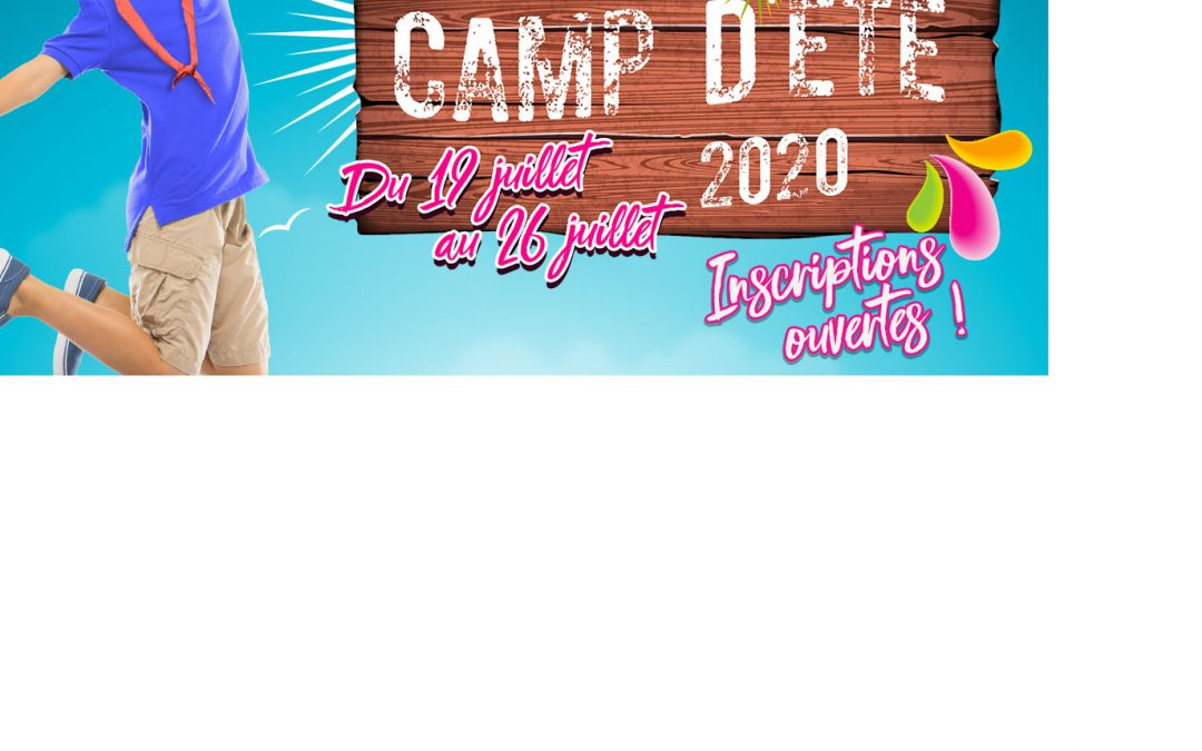 Camp d'été 2020 – Faucons Rouges de Nivelles