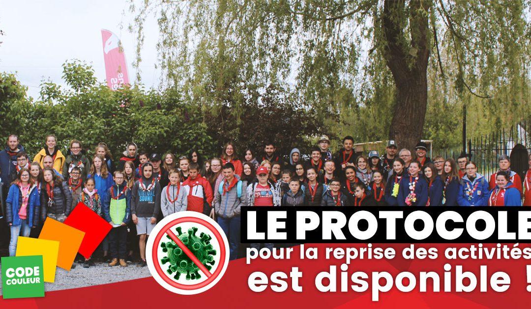 [OBSOLÈTE] Protocole pour l'organisation des activités des enfants et des jeunes à partir du 1er septembre 2020 et ce, dans le cadre de la crise sanitaire COVID-19
