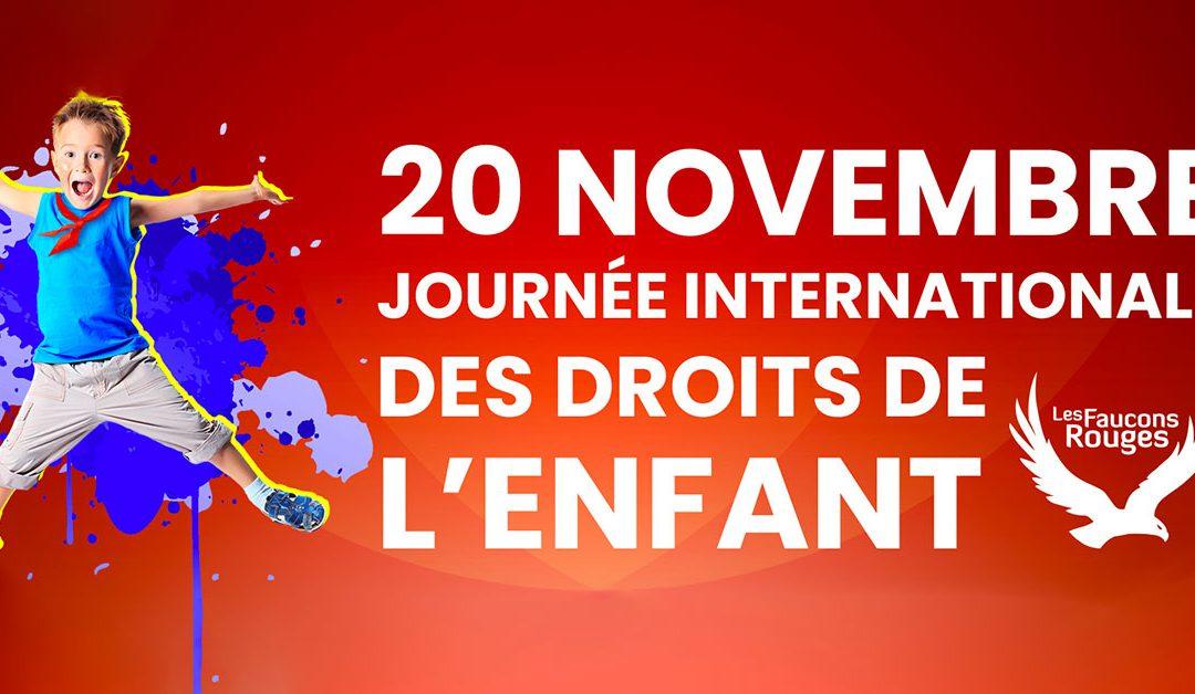 20 novembre – Journée des Droits de l'Enfant