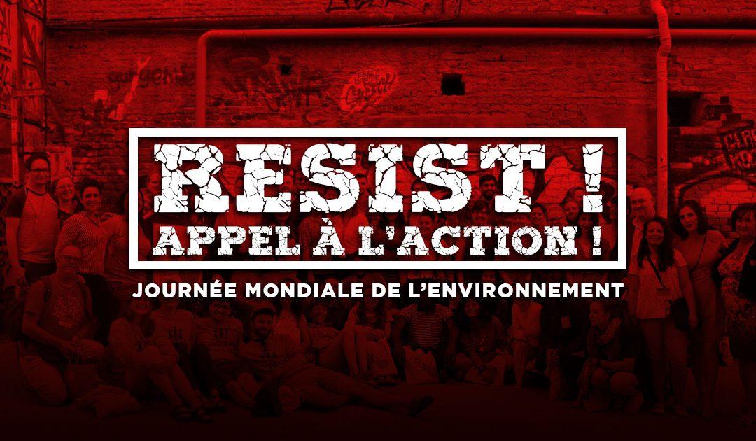 Resist ! Appel à l'action !